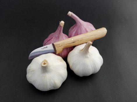 Speciális fokhagyma pucoló/tisztító kés